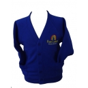 Five Lanes Cardigan Embroidered with logo