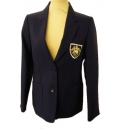 Fulneck Senior School Girls Royal Blue Blazer