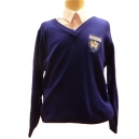 Fulneck Junior Royal Blue Jumpers With Logo