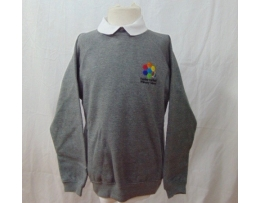Farsley Farfield Sweatshirt Embroidered With Logo
