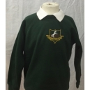 Broadgate Lane Primary Sweatshirt Embroidered With Logo