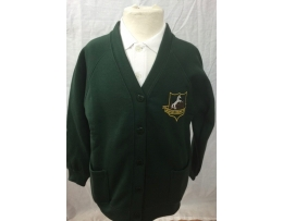 Broadgate Lane Primary  Cardigan Embroidered with logo