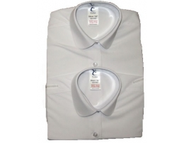 Twin Pack girls Blouses Katie Collar
