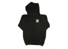 St Mary's Black Hoody with Logo and Initals